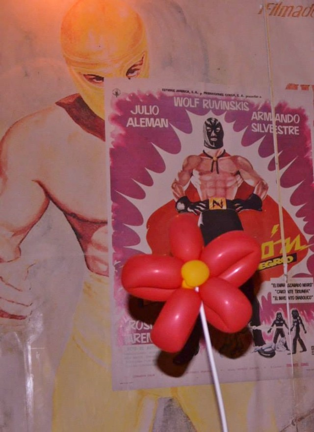 Flower and lucha loco