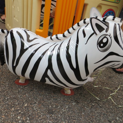 Zebra Pet Walker